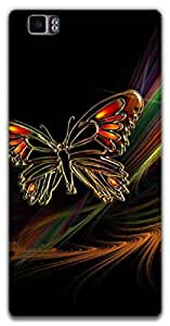The Racoon Lean The Butterfly hard plastic printed back case / cover for Lenovo K900
