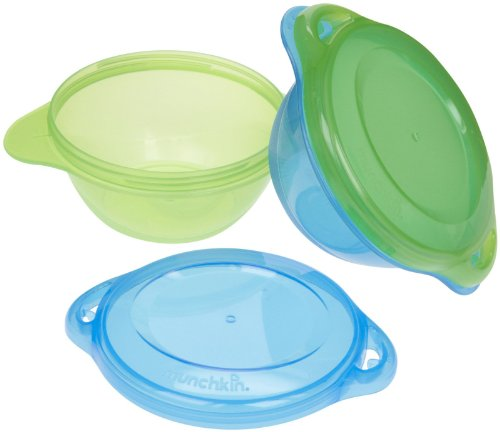 Munchkin Click Lock Toddler Bowls - Boy - 2 ct