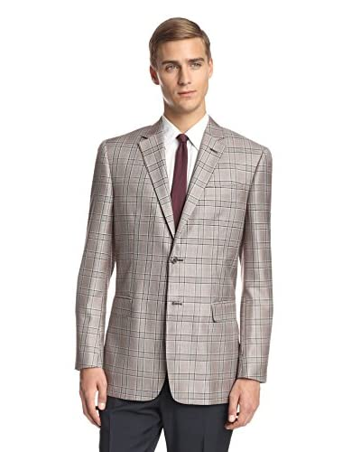 Valentino Men's Glen Plaid Sportcoat