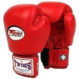 TWINSスタンダードボクシンググローブグローブ12oz赤並行輸入品