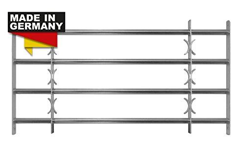 Sixone Fenstergitter Sicherheitsgitter Amsterdam ausziehbar in 9 Größen 600x500-650 mm
