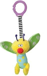 TAF Toys - 11175 - Jouet Poussette - Hochets Carillon - Abeille antennes violettes ( fille)