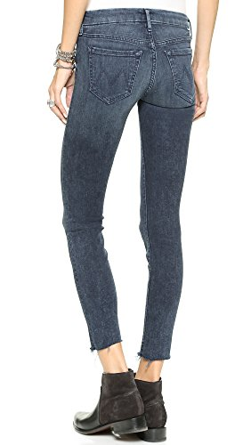 MOTHER Women's Looker Skinny Ankle Fray Jeans, Film At 11, 32