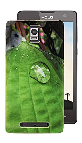 ECellStreet Silicon Soft Back Case Cover Back Cover For Xolo Era - Water Drop