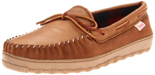 Tamarac by Slippers International Men's Scotty Moccasin,Allspice,10 M US