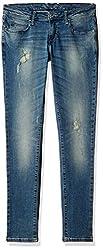 Pepe Jeans Women's Skinny Jeans (PL201810-3_Blue_30)