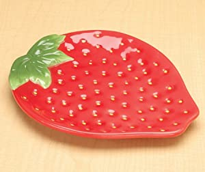 Appliances Amazon.com: Strawberry Collectible Fruit Ceramic Glass Kitchen .