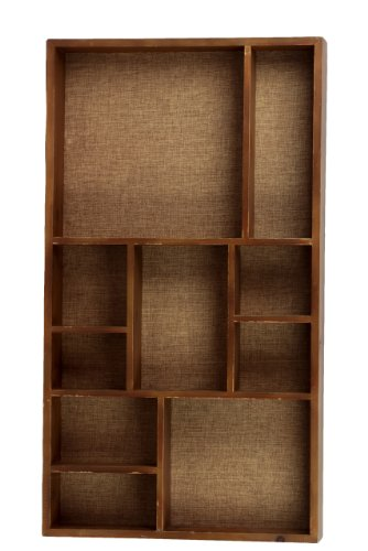 Urban Trends 35038 Decorative Wooden Wall Shelf Home