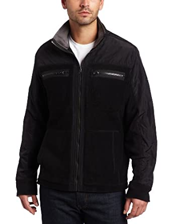 c25c44cb14d1c8 (3.2折)凯文克莱型男混纺时尚外套Calvin Klein JeansSolid