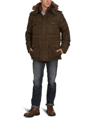 Gant Men's 74060 Jacket Green (Dark Moss) 48