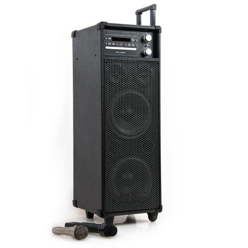 enceinte-portable-disco-dj-box-systeme-ampli-dvd-mp3-usp-microphone-sans-fil