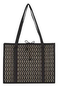 Baskets of Cambodia Hand Woven Tatami Fair Trade Tote