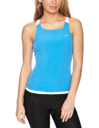 Nike Womens Sleeveless Athletic Top Blue/White