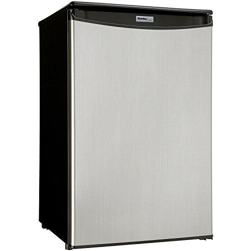 Danby Danby Dar044A5Bsldd Compact All Refrigerator, Spotless Steel Door, 4.4 Cubic Feet
