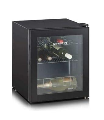 Severin KS 9889 - refroidisseurs à vin (Autonome, Noir, 4 - 18 °C, SN, Non, A, Noir)