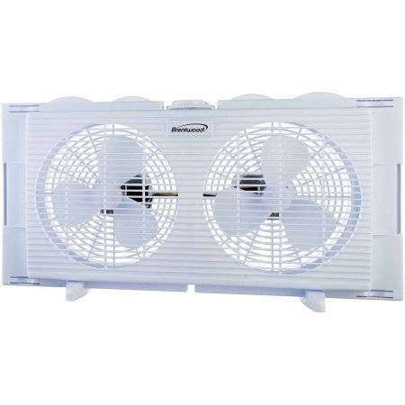 Brentwood 2-in-1 Window Fan (Door Exhaust Fan compare prices)