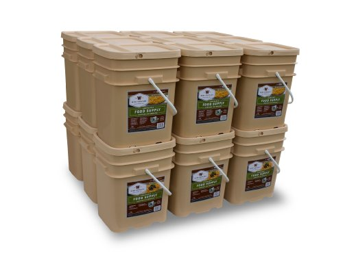 Wise Company 2160 Serving Package (372-Pounds, 18-Buckets)