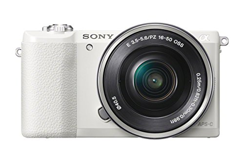 Buy Cheap Sony a5100 16-50mm Mirrorless Digital Camera with 3-Inch Flip Up LCD (White)