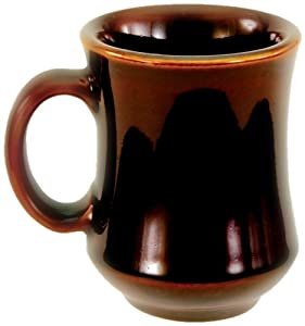Crestware 7-1/2-Ounce Carmel Bell Shaped Mug, 12-Pack