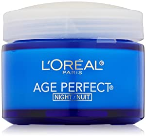 L'Oreal Paris Age Perfect Night Cream, 2.5 Fluid Ounce