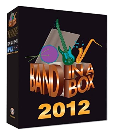 PG Music Band-in-a-Box Pro 2012 Windows