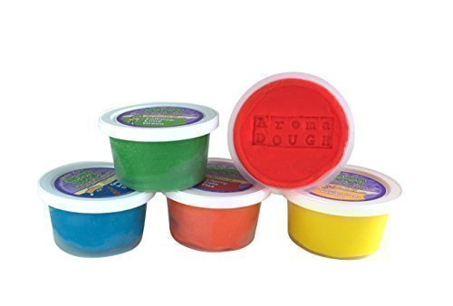 Gluten-Free, Soy-Free Play Dough (5 Pack) ALL Natural Aromas! (Soy Play Dough compare prices)