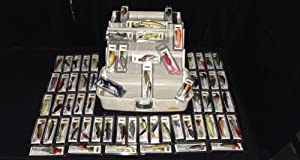 Buy NEW Plano 3 Tray Tackle Box with 64 NEW Fishing Lures by Nuthin Fancy Outdoors