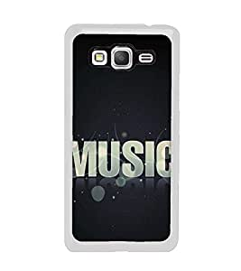 Music 2D Hard Polycarbonate Designer Back Case Cover for Samsung Galaxy Grand Prime :: Samsung Galaxy Grand Prime Duos :: Samsung Galaxy Grand Prime G530F G530FZ G530Y G530H G530FZ/DS