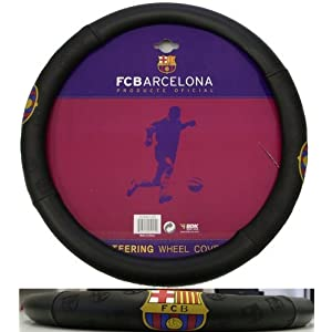 Barcelona FC Football Soccer Club Steering Wheel Cover Car Truck SUV