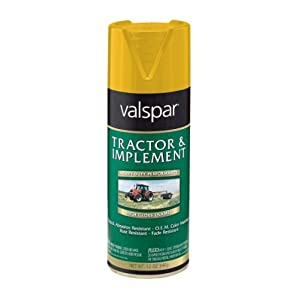Amazon.com: Valspar 5339-25 Cub Cad Yellow Tractor and Implement Spray