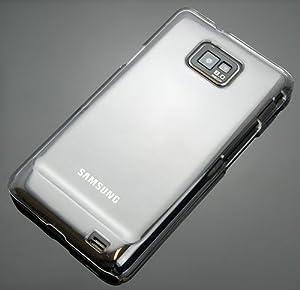 Duncrest Design Hardcase Schutzhülle für Samsung Galaxy SII S2 i9100 Transparent Klar
