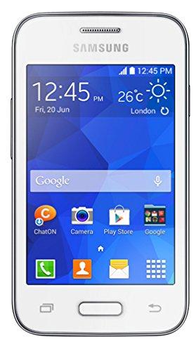 """Téléphone portable - Samsung Galaxy Young 2 SM-G130 Blanc - Smartphone 3G+ avec écran tactile 3.5"""" sous Android 4.4"""