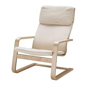 Ikea pello silla mecedora abedul y acero hogar - Mecedoras ikea precios ...