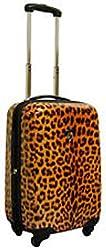 "Heys USA Tivoli Amber Leopard 22"" Carry On"