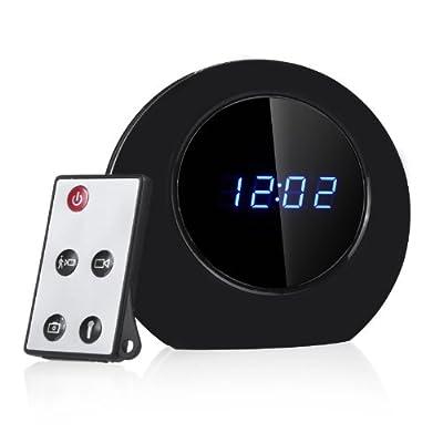 Docooler Digital Alarm Clock Hidden Camera DVR Recorder Camcorder Motion Detection Multifunction