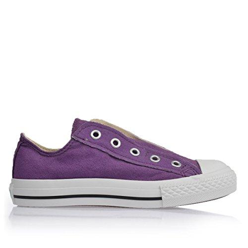 Converse AS cbkoa Chucks Slip On YTH Purple/White, Viola (lilla), 31 EU