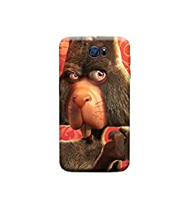TransMute Premium Printed Back Case Cover With Full protection For Samsung S6 (Designer Case)