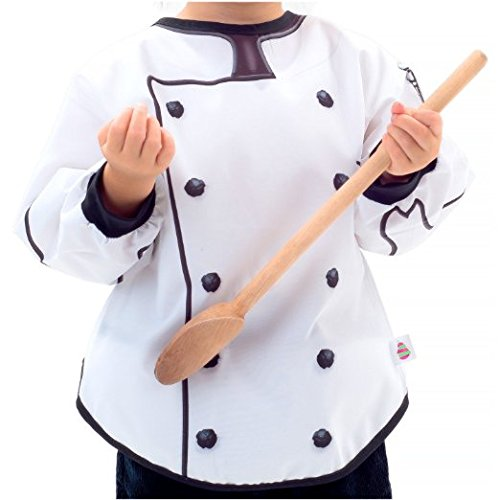 Mixed Pears Suitables Role Play Bibs 6M-3T-Chef (Baby Cook Outfit compare prices)