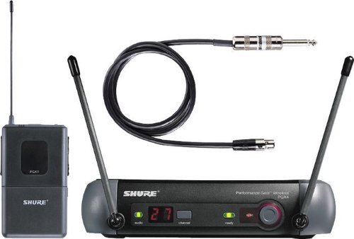 Shure Pgxd14 Digital Wireless Instrument System Uhf Instrument Wireless Mic System