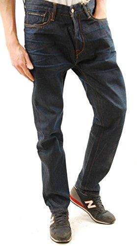 Scotch & Soda Men's DEAN Denim Jeans Loose Tapper Trousers Indigo Size 32/32