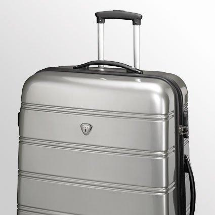 Trolley-Koffer-Set - 3-teilig - XXL-Light - Silber