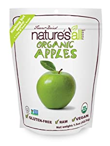 Nature's All Foods Freeze-Dried Apples, 1.5 Ounce