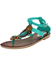 Do Bhai Women's Synthetic Sandals