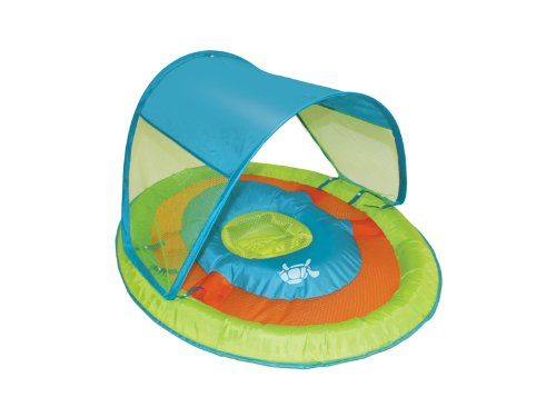 Swimways Baby Spring Float Sun Canopy, Green