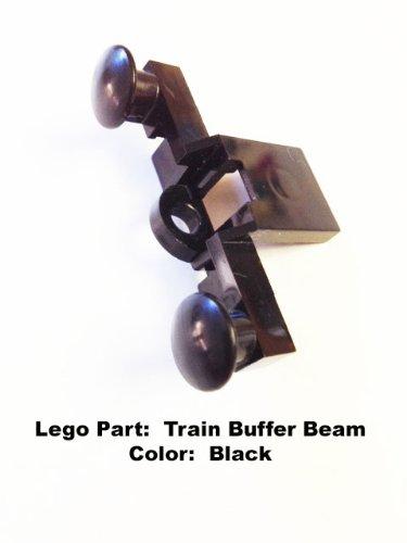 Lego Parts: Train Buffer Beam (Black)