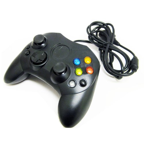 Duafire Black Wired Controller For Pc & Xbox 360
