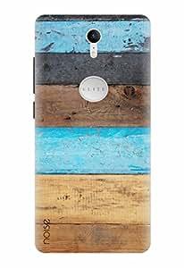 Noise Designer Printed Case / Cover for Swipe Elite Plus / Wood / Stripes Design