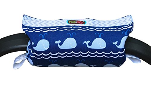the padalily handle cushion arm cushion for infant car seat boy whales. Black Bedroom Furniture Sets. Home Design Ideas