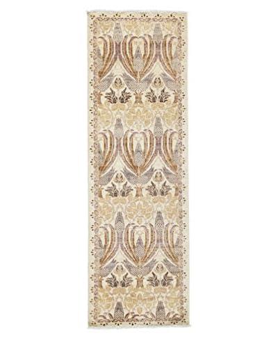 Darya Rugs Arts & Crafts Rug, Ivory, 2' x 6 x 8' 2 Runner