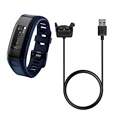 BlueBeach High quality Replacement USB Charging Cable for Garmin Vivosmart HR with data function